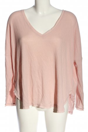 Urban Outfitters V-Ausschnitt-Pullover pink Casual-Look