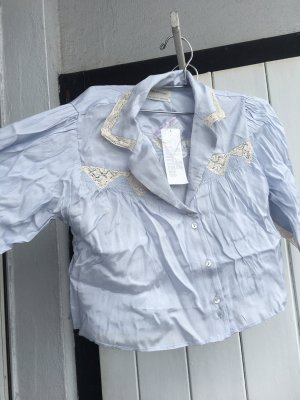 Urban Outfitters Lace Blouse azure