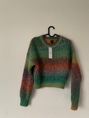 Urban Outfitters Cropped Jumper multicolored