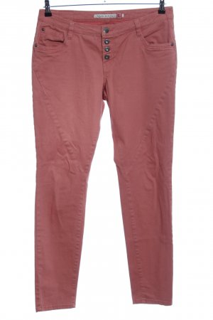 Urban Surface Five-Pocket Trousers red casual look