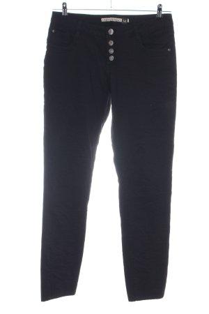 Urban Surface Pantalon taille haute noir style décontracté