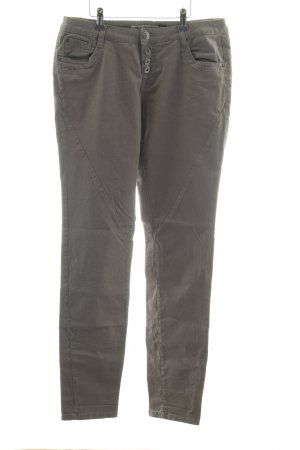 Urban Surface Hoge taille broek khaki casual uitstraling
