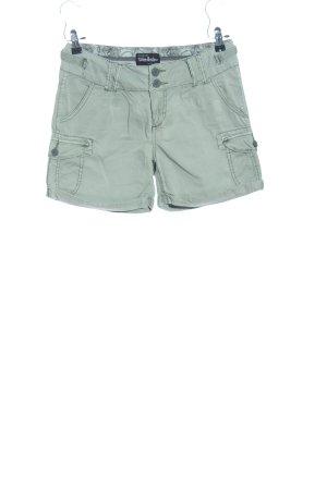 Urban Surface High-Waist-Shorts khaki Casual-Look
