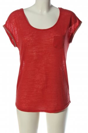 Urban Surface Knitted Jumper red flecked casual look