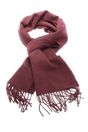 Urbanara Bufanda de lana marrón moteado look casual