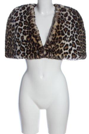 Urbancode Bolero Stampa leopardata elegante