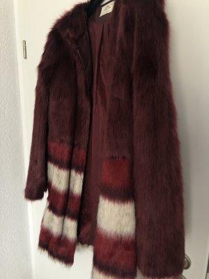 Urbancode Cappotto in eco pelliccia multicolore