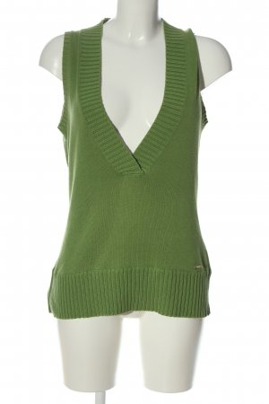 ure Fine Knitted Cardigan green casual look