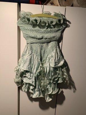 Flounce Dress pale green
