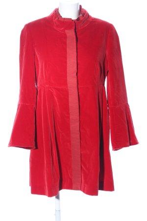 Ursula Onorati Manteau court rouge élégant