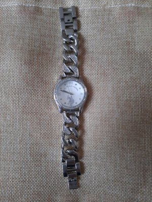 Polo Ralph Lauren Watch With Metal Strap silver-colored-grey