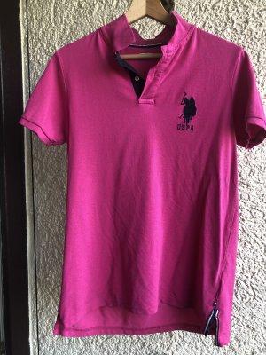 Us Polo ASSN Top Polo magenta-violet