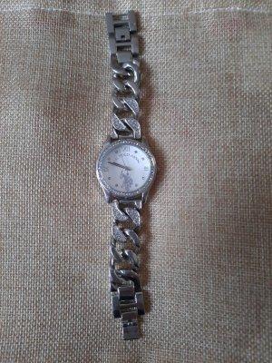 Polo Ralph Lauren Zegarek z metalowym paskiem srebrny-szary