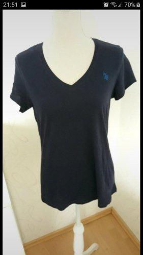 US Polo Assn. Tshirt blau gr. M neu