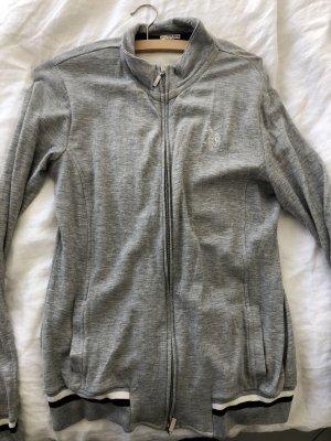 US Polo Veste sweat gris clair