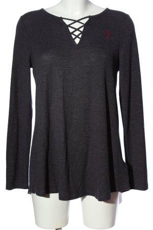 US Polo V-Ausschnitt-Pullover