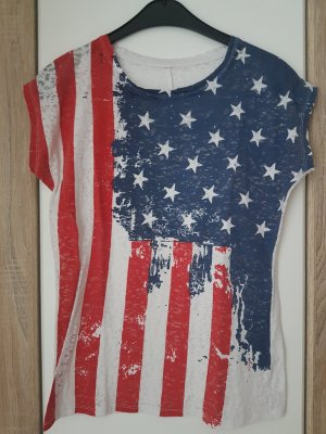 USA Muster T-Shirt von Mister*Lady