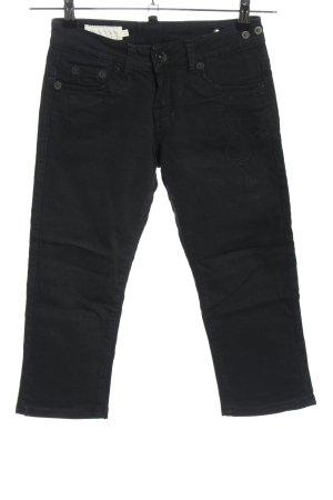 Used II Jeans 3/4 Jeans schwarz Casual-Look