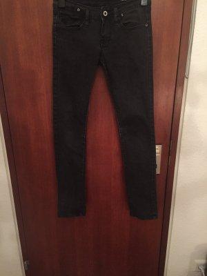 Pantalón de cinco bolsillos negro Algodón