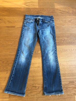 Used Jeans von 7 for all mankind Größe 28