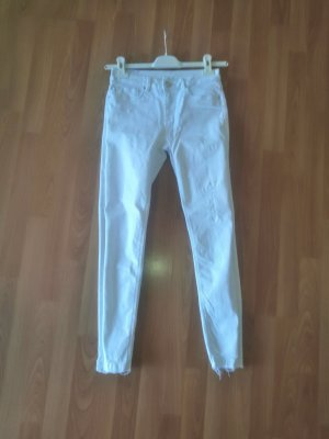 Used Jeans Weiß 28