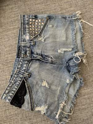 Karma Pantaloncino di jeans multicolore