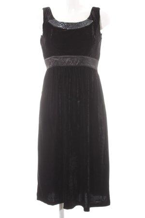 Usha Abendkleid schwarz Elegant