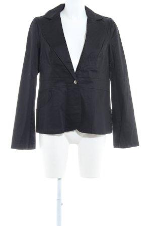 Usha Kurz-Blazer schwarz Business-Look