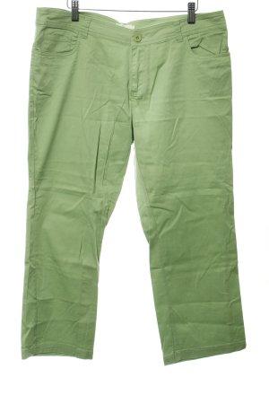Usha Straight-Leg Jeans grasgrün Casual-Look