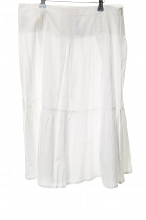 Usha Broomstick Skirt white
