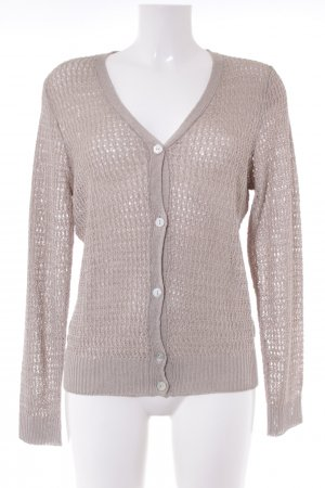 Uta Raasch Crochet Cardigan natural white cable stitch casual look