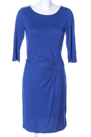 Uta Raasch Sukienka ze stretchu niebieski Tkanina z mieszanych włókien