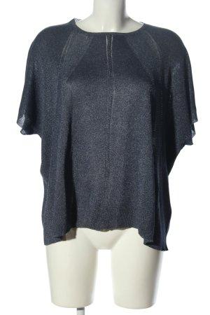 Uterqüe Maglione oversize grigio chiaro puntinato elegante