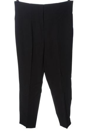 Uterqüe Pantalone jersey nero stile casual