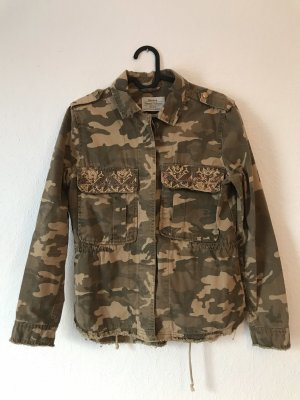 Utility Jacke in Camouflage-Optik
