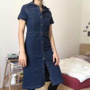 Utility style Jeans Kleid