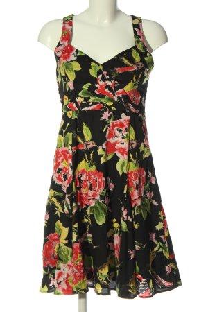 Uttam Boutique A-Linien Kleid Allover-Druck Casual-Look
