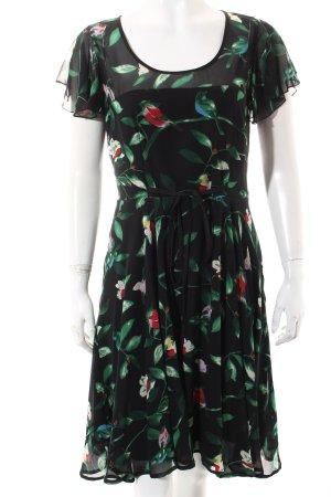 Uttam Boutique Kleid mehrfarbig klassischer Stil