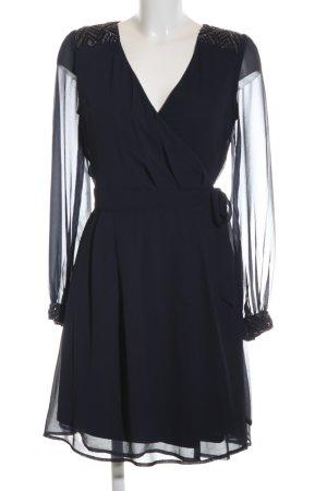 Uttam Boutique Langarmkleid blau Elegant