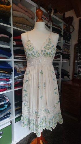 Uttam boutique Sommerkleid creme mit Pailletten Gr. S