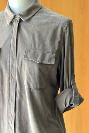 UTZON Leather Shirt multicolored leather