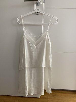 Mango Sukienka na ramiączkach biały