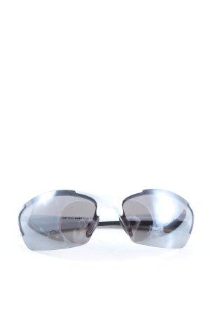 Uvex eckige Sonnenbrille weiß Casual-Look