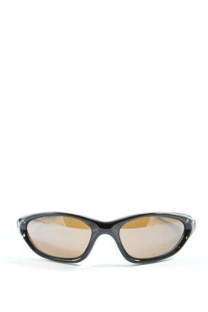 Uvex Lunettes de soleil ovales noir style décontracté