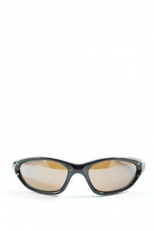 Uvex ovale Sonnenbrille schwarz Casual-Look