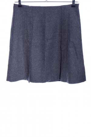 uvr connected Wool Skirt blue graphic pattern casual look