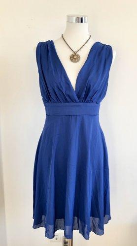 zeagoo Vestido corte imperio azul