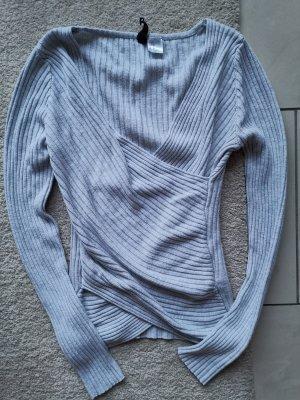 V Ausschnitt Pullover