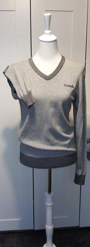 Bench V-Neck Sweater light grey-grey