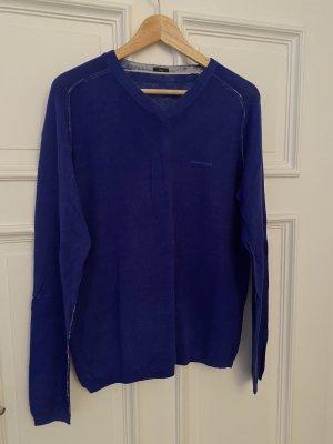 Armani Jeans V-Neck Sweater blue
